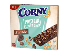 CORNY 4-Pakk Piimašokolaadi ja proteiiniga 84g