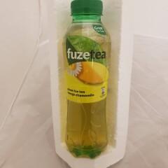 FUZE TEA Mangomaitseline kummeli ja rohelise tee ekstraktiga karboniseerimata teejook 500ml