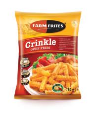 FARM FRITES Oven crinkle frites 0,75kg