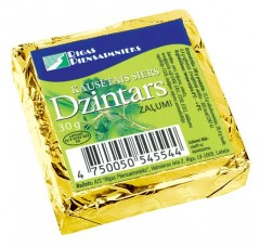 DZINTARS Sulatatud juust maitserohelisega 30g