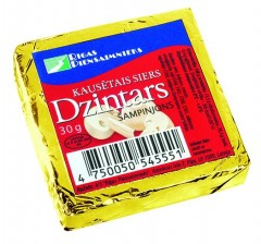 DZINTARS Sulatatud juust seentega 30g